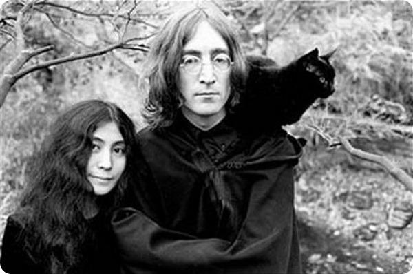 Джон Леннон: кошки в его жизни