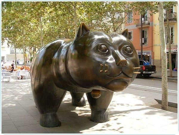 Кот Батеро в Барселоне