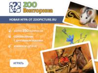 Зоо Викторина на нашем сайте !