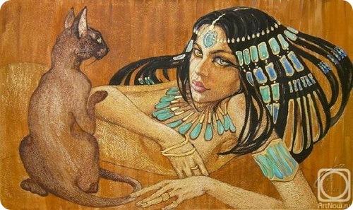 Фаттах Галла: Женщина и кошка