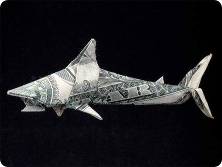Необыкновенные фигурки из.... Origami02