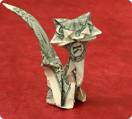 Необыкновенные фигурки из.... Origami06