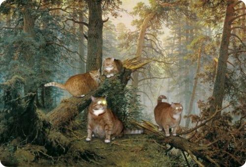 Заратустра - Котэ в шедеврах мировой живописи
